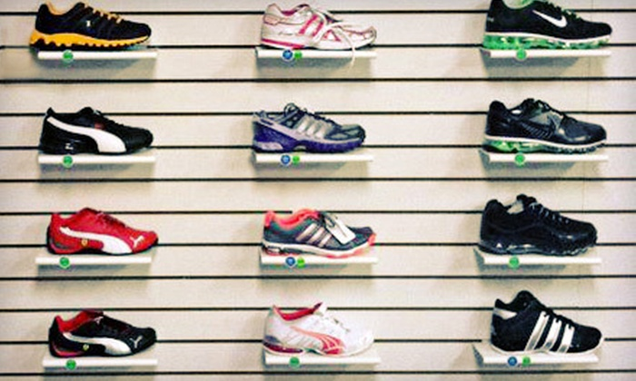 Fit Footwear - Shaheen Estates: $25 for $50 Worth of Athletic Shoes at Fit Footwear