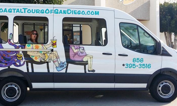 Coastal Tours of San Diego - San Diego: Seven-Hour Coastal Tour of San Diego for One or Two from Coastal Tours of San Diego (Up to 43% Off)