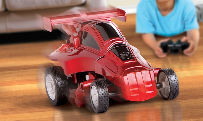 The Black Series Toy RC Robot Jr. Transforming Car: The Black Series Toy RC Robot Jr. Transforming Car in Blue or Red. Free Returns.
