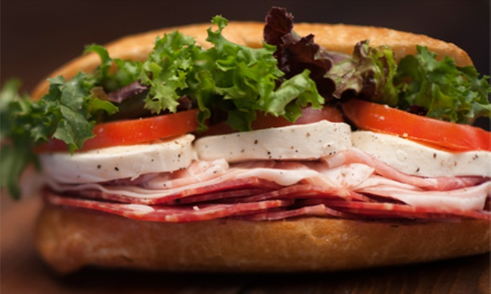 Aunt Nanny's Deli - Bound Brook: $15 for Three Groupons, Each Good for $10 Worth of Sub Sandwiches at Aunt Nanny's Deli ($30 Value)