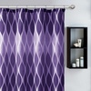 Jansen Fabric Shower Curtain Set with 12 Resin Hooks