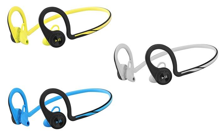 Up To 43 Off On Plantronics Bluetooth Headphones Groupon Goods
