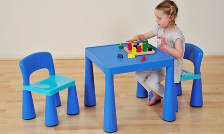 Kid's Table and Chairs Set