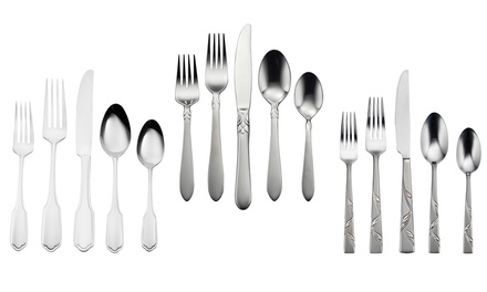 Oneida 20-Piece Stainless Steel Flatware Sets