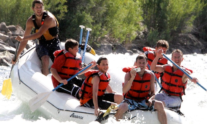 Orion River Rafting - Cashmere: Whitewater-Rafting on the Wenatchee River from Orion River Expeditions (50% Off). Four Options Available.