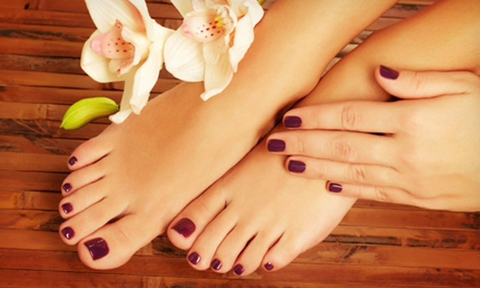 ATL Beauty Bar - Atlanta-Decatur: Mani-Pedi with Optional Gel-Polish Manicure at ATL Beauty Bar (Up to 54% Off)