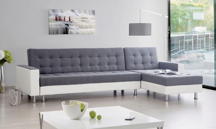canap louane m moire de forme groupon. Black Bedroom Furniture Sets. Home Design Ideas