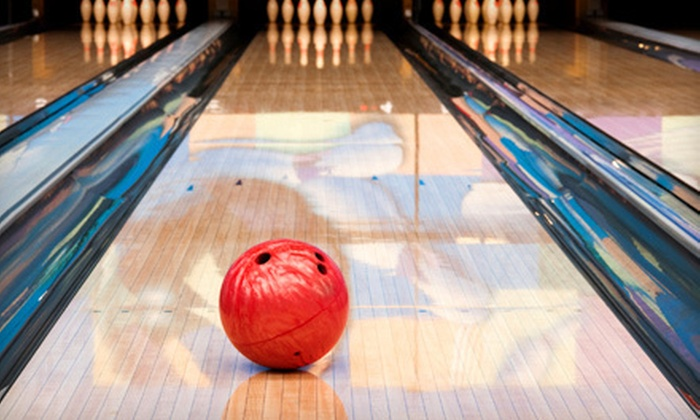 Community Entertainment Centers - Multiple Locations: Bowling for Up to Five with Two Games or Three Games and Pizza at Community Entertainment Centers (Up to 73% Off)