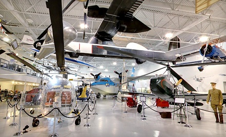 One-Year Membership or Visit for Two, Four, or Six to Hiller Aviation Museum (Up to 54% Off)