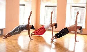 Ganesha's Yoga and Wellness: 10 Hot Yoga Classes or One Month of Unlimited Hot Yoga Classes at Ganesha's Yoga and Wellness (Up to 88% Off)