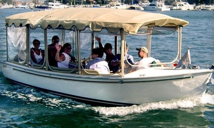 The Electric Boat Company - Lake Union and surrounding waterway : $89 for a Two-Hour Rental of a 21-Foot Electric Boat at The Electric Boat Company ($178 Value)