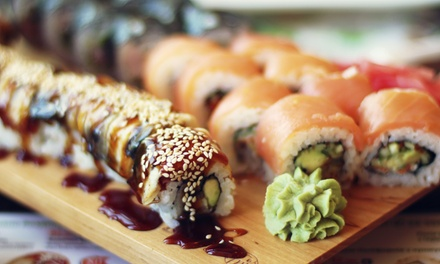 $17 for $30 Worth of Japanese Food for Lunch or Dinner at Kasai Japanese Restaurant in Green
