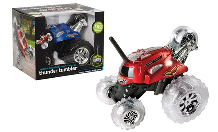 Black Series Thunder Tumbler Remote-Controlled Cars