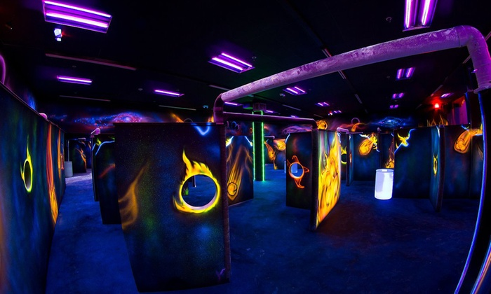 Bonkerz Family Fun Center - Princeton: Laser Tag Game and Batting-Cage Session for Two, Four, Six, or Eight at Bonkerz Family Fun Center (Up to 53% Off)