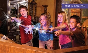 Up to 50% Off a MagiQuest Experience at MagiQuest  at MagiQuest, plus 6.0% Cash Back from Ebates.