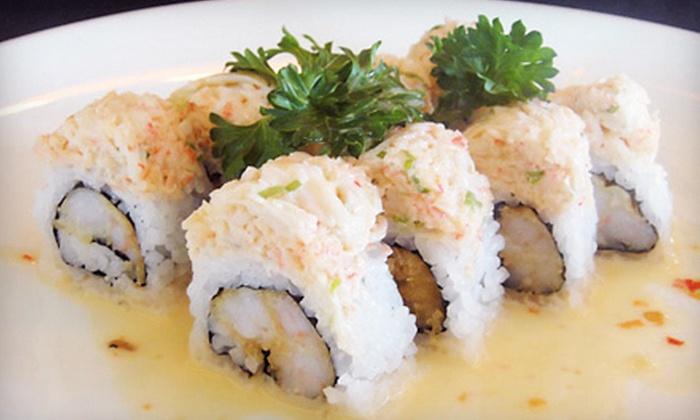 Midori Japanese Restaurant - Princeton: $12 for $25 Worth of Japanese Food and Drinks at Midori Japanese Restaurant