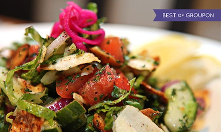 Mediterranean Cuisine for Two or Four at Parkallen Restaurant (Up to 45% Off)