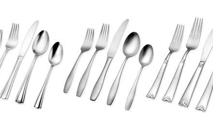 Hampton Forge 20-Piece Flatware Set