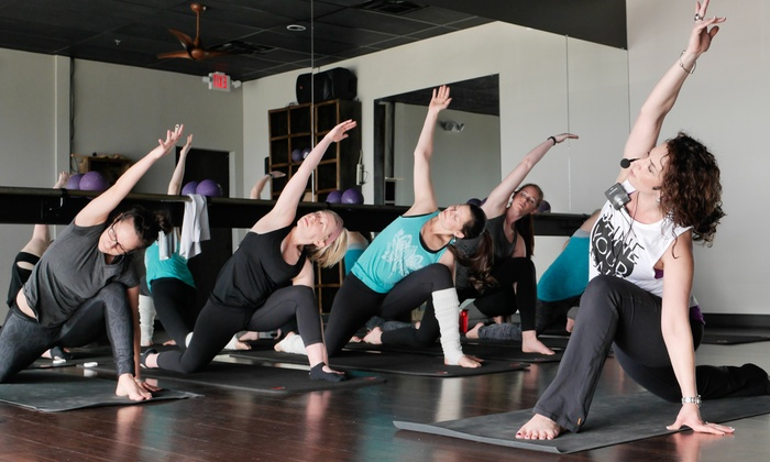 {r}elevé one fitness and dance studios - Franklin: Barre, Yoga, or Yoga Fusion Classes at {r}elevé one fitness and dance studios (Up to 66% Off)