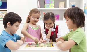 Kidville: Three Kids' Classes and Two Playspace Passes with Optional Birthday-Party Discount at Kidville (Up to 77% Off)