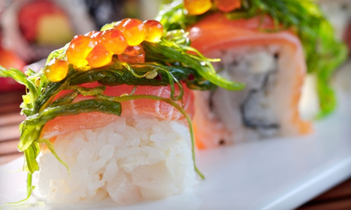 Sakura - Lee's Summit: Sushi and Asian Cuisine at Sakura (Up to 55% Off). Three Options Available.