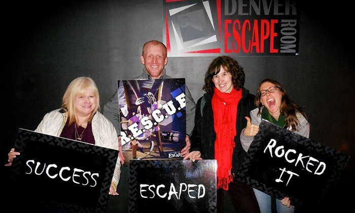 Denver Escape Room - Northglenn: One-Hour Escape Room Experience for Two, Four, or Six at Denver Escape Room (Up to 54% Off)