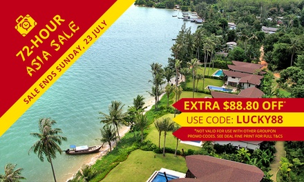 Thailand, Phuket: 3 to 10Night Stay for Two People with Breakfast and Koh Rang Trip at The Village Coconut Island