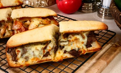 C$12 for C$20 Worth of Cheesesteaks and Poutine at Philthy Phillys