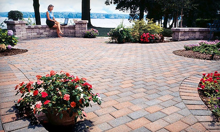 Ozark Outdoor Services - Springfield MO: $1,995 for a Custom-Designed Stone-Paver Patio of Up to 200 Square Feet from Ozark Outdoor Services ($3,875 Value)