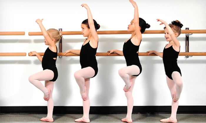 In the Wings Academy of Dance - Easton: One Month of Dance for Kids Aged 3–6 or 7–18 at In the Wings Academy of Dance (Up to 51% Off)