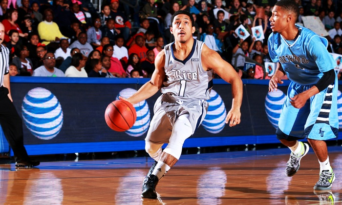 Rice University Men's Basketball - Tudor Fieldhouse: Two or Four Tickets to a Rice Owls Men's Basketball Game at Tudor Fieldhouse (Up to 42% Off). Three Games Available.