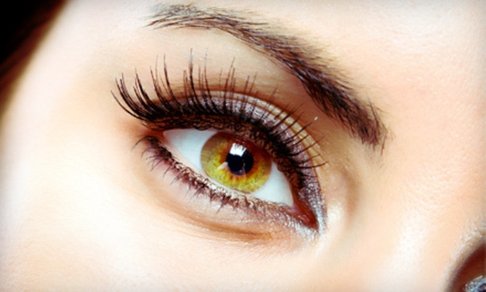 The Eyelash Connection - Sierra Center: Eyelash Perm, Semipermanent Mascara, or Upper-Eyelash Extensions at The Eyelash Connection (Up to 52% Off)