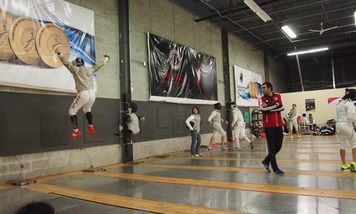 Premier Fencing Club - Monmouth Junction: Up to 72% Off Day Camp for Ages 6-12 at Premier Fencing Club