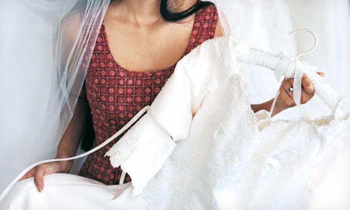 Boxgrove Cleaners - Multiple Locations: Wedding-Dress Services at Boxgrove Cleaners (Up to 61% Off). Three Options Available.