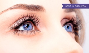 Lashful: Full Set of Eyelash Extensions with Option for Touchup Set at Lashful (Up to 71% Off)