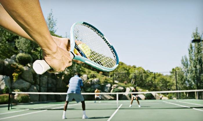 Tennis Academy of North Carolina - Providence Estates East: Junior Tennis Camp at Tennis Academy of North Carolina in Matthews (52% Off). Three Options Available.