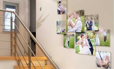 Custom Photo Collages on Acrylic Glass from Pixtac from $39.99–$129.99