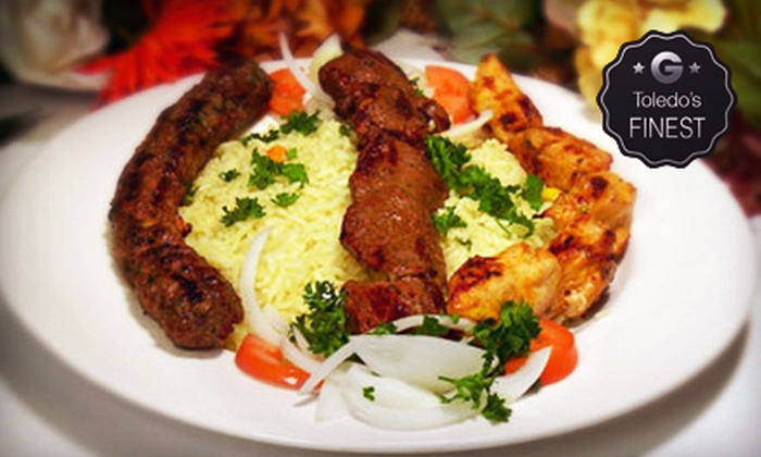 The Grape Leaf Diner - Holland: $10 for $20 Worth of Lebanese Cuisine for Two at The Grape Leaf Diner