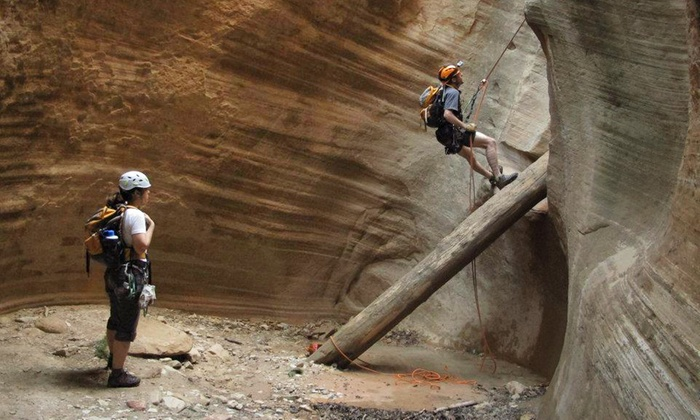Zion Mountain School - Springdale: $149 for an All-Day Canyoneering or Rock-Climbing Trip from Zion Mountain School ($320 Value)