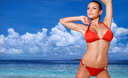 One or Three Personalized Airbrush Tans at Planet Tan in Clearwater (Up to 61% Off)