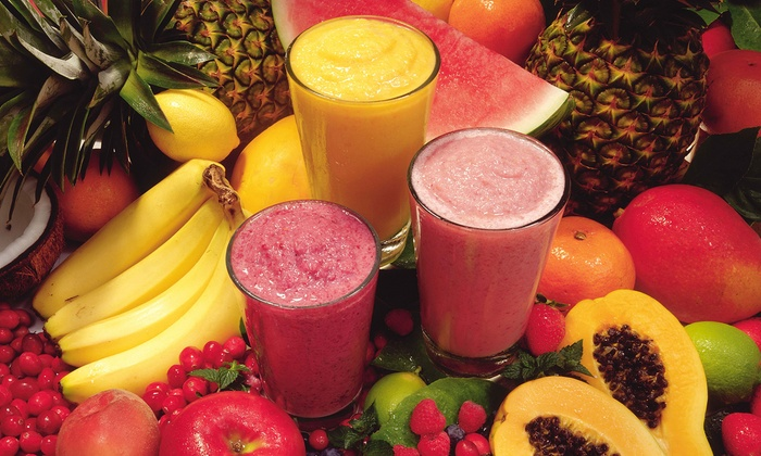 Smart Drinks & Nutrition - Multiple Locations: Smoothies, Coffee Drinks, and Vitamins at Smart Drinks & Nutrition (50% Off). Three Options Available.