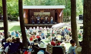 AFBA 27th Annual Bluegrass Festival: AFBA 27th Annual Bluegrass Festival at Mountain View Park on July 30–August 2 (Up to 50% Off)