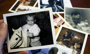 Family Ties: $30 for Photo Scanning of 100 Paper Images to CD at Family Ties ($60 Value)