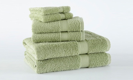 100% Supima Cotton 6-Piece Towel Set. Multiple Colors Available. Free Returns.