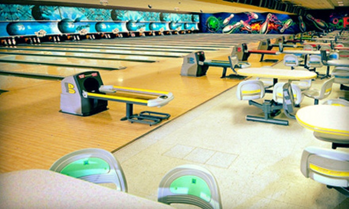 Oops Alley - Pace: Bowling for Up to Four on a Sunday–Thursday or a Friday–Saturday, or Banquet-Hall Rental at Oops Alley (Up to 64% Off)