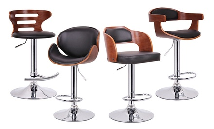 Baxton Studio Walnut and Black Modern Barstools. Multiple Styles from $89.99–$109.99. Free Returns.