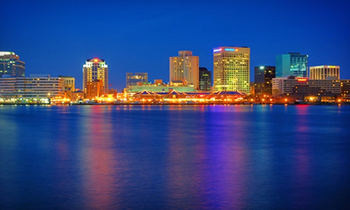 Hampton Roads Air Tours - Western Branch South: $249 for a Holiday-Lights Hampton Roads Deluxe Air-Tour Flight for Up to Three ($499 Value)