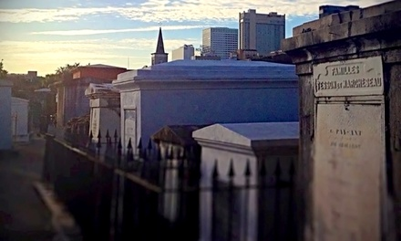 Historical Walking Tour of New Orleans for Two, Four, or Six from G L-f de Villiers (Up to 58% Off)