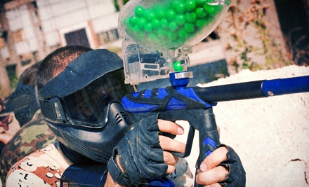 Indoor Paintball Package for Two or Four at Flag Raiders (Up to 60% Off)