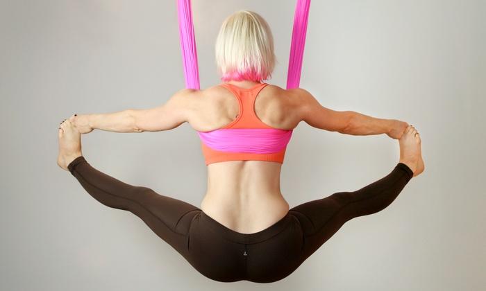 Vata Asana Yoga - Pennington: 5, 10, or 20 Aerial or Floor Yoga Classes at Vata Asana Yoga (Up to 72% Off)